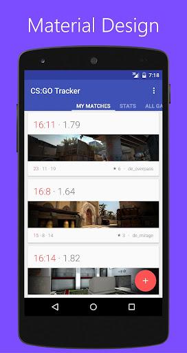 Tracker for CS:GO