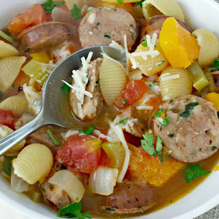 Italian Style Chicken Sausage Soup