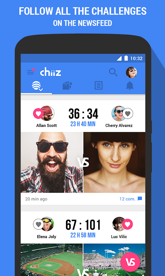 Chiiz- screenshot