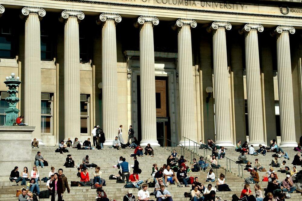 Библиотека Колумбийского университета. Фото: Depositphotos