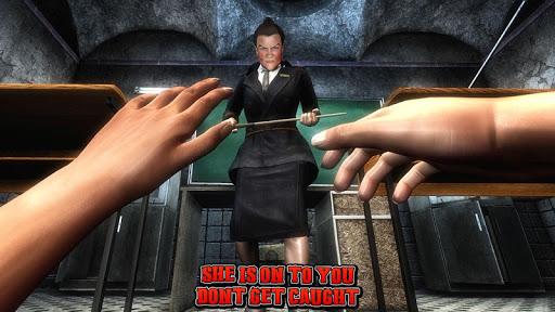 Spooky Teacher - High School Story  captures d'écran 6