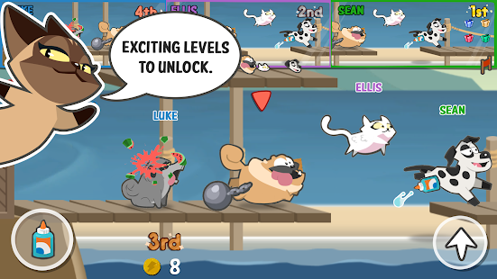 Pets Race – Fun Multiplayer PvP Online Racing Game 4