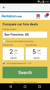 San Francisco Car Rental, US - náhled