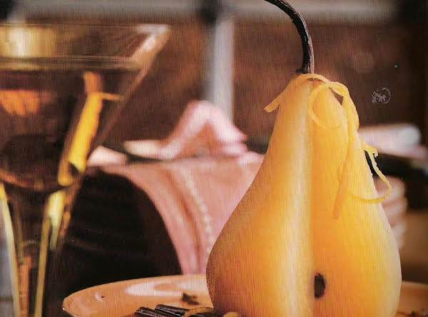 Pere Cotte (poached Pears) Recipe
