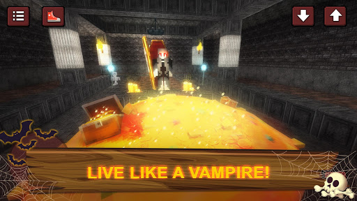 Vampire Craft: Dead Soul of Night. Crafting Games 1.5 screenshots 1