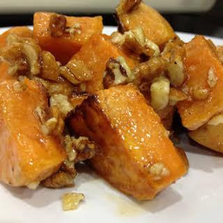 Maple Pecan Sweet Potatoes.