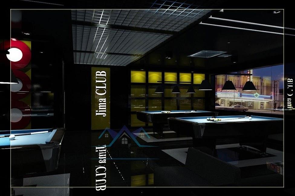 thiết kế câu lạc bộ bida chất lượng cao