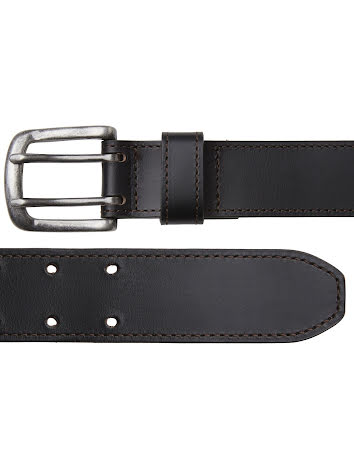 Chevalier Barrow Leather Belt Leather Brown