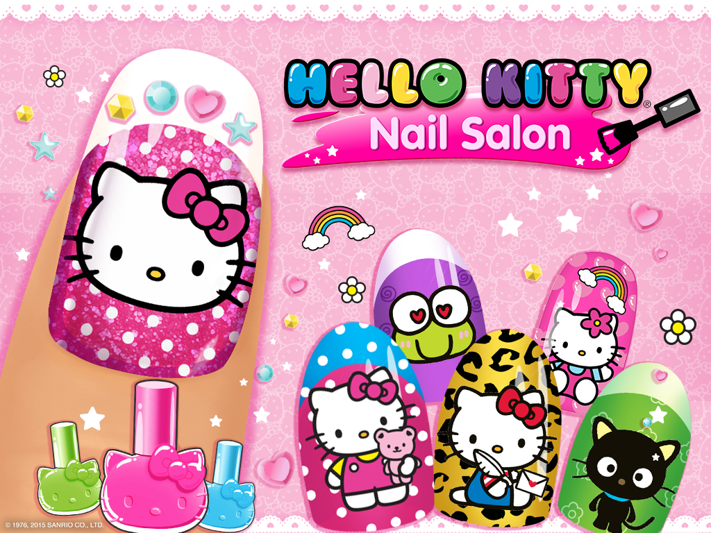 Salon Kuku Hello Kitty Apl Android Di Google Play