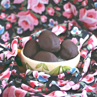 Chocolate Covered Cheesecake Easter Ovoids