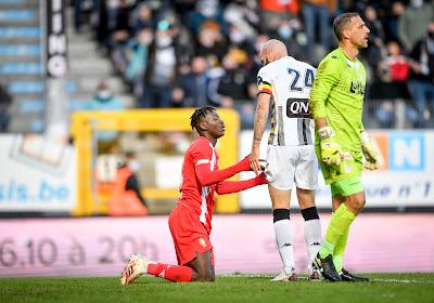 La frustration de Dorian Dessoleil après la défaite contre le Standard