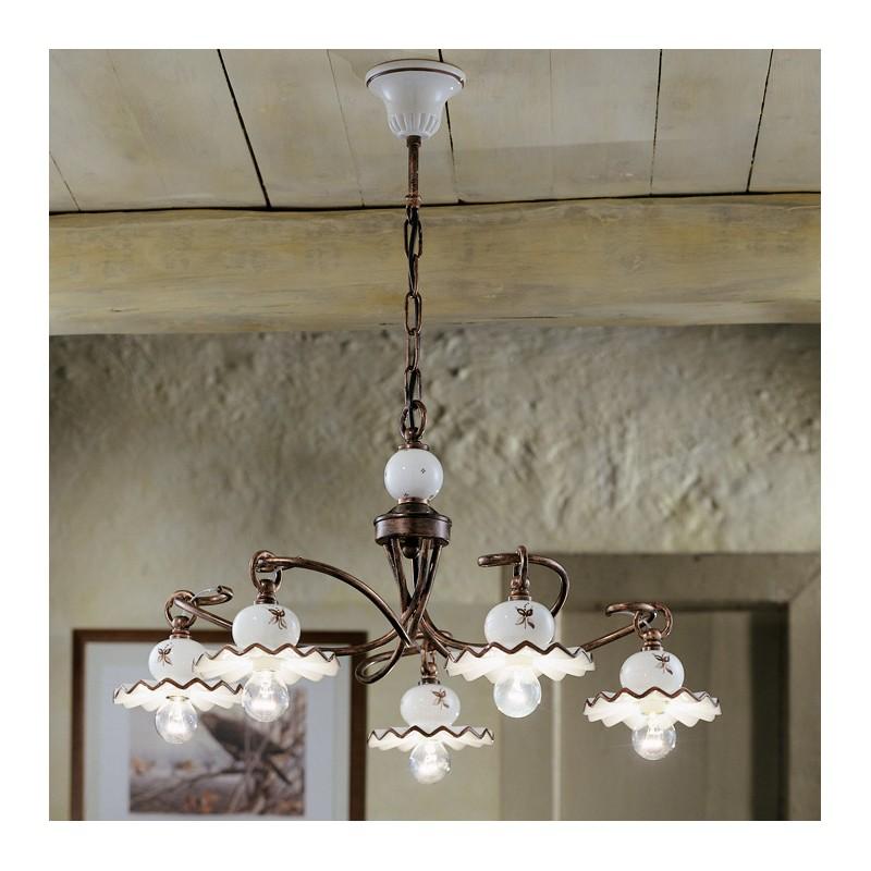 lampada da soffitto per cucina in stile classico