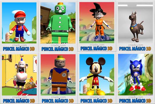 Pincel Mágico 3D - Grátis  screenshots 1