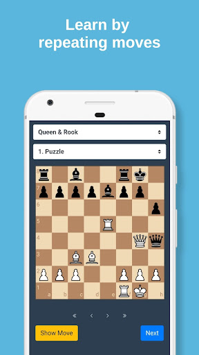 Mate in 2 Chess Tactics android2mod screenshots 3