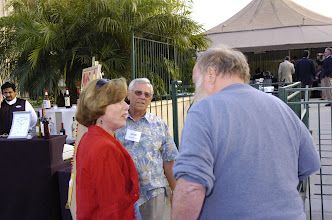 Photo: Barbi Knopp Wesser, Don Wesser '56 and Paul Postlewait