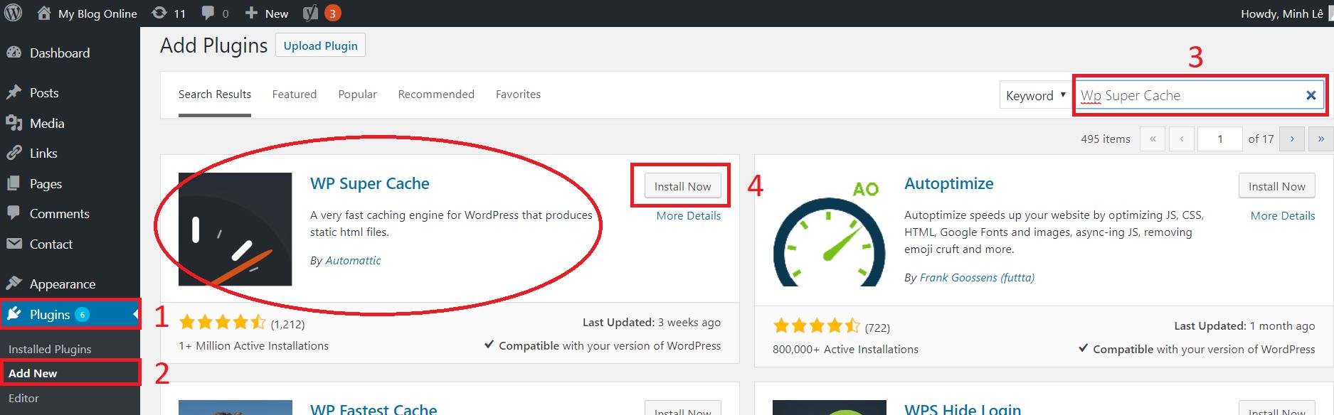 Tăng Tốc Độ Chạy Website WordPress Bằng WP Super Cache
