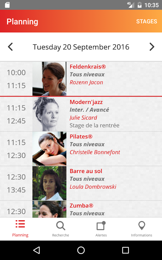 Le Centre des Arts Vivants- screenshot