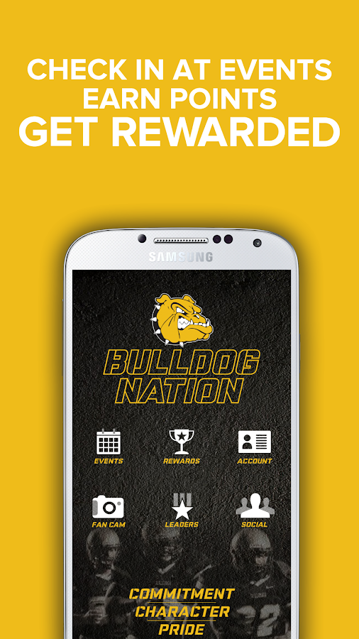 Bulldog Nation App- screenshot