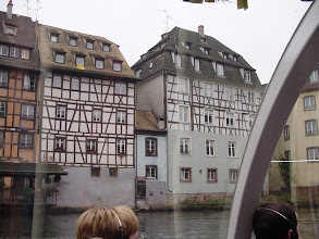 Photo: Lots of half-timbered construction in some parts of the city.