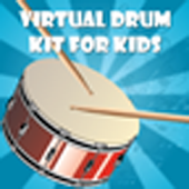 Virtual Drum Kit for Kids Pro