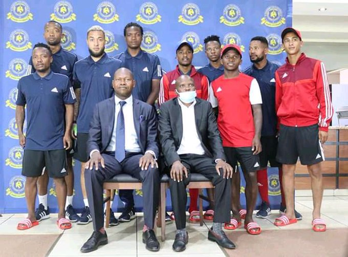 Tshakhuma Tsha Madzivhandila FC owner Masala Mulaudzi during announcement of new players ahead of DSTV Premiership 2020/21 season.