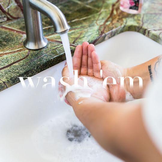 Wash 'Em - Instagram Post Template