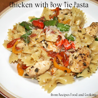 Chicken with Bow Tie Pasta