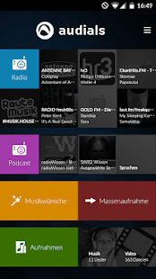 Radio Player von Audials – Miniaturansicht des Screenshots