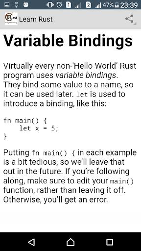 Learn Rust Programming Pro screenshot 2