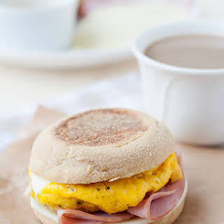 Homemade Egg McMuffins - English Muffin Breakfast Sandwiches.