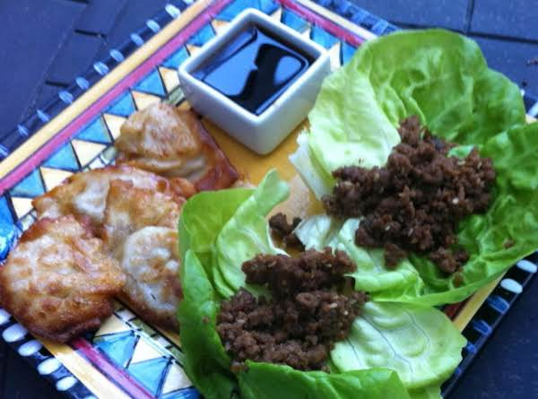 Korean Lettuce Cups Now You Just Roll Them Up And Eat Them Like A Burrito. Enjoy