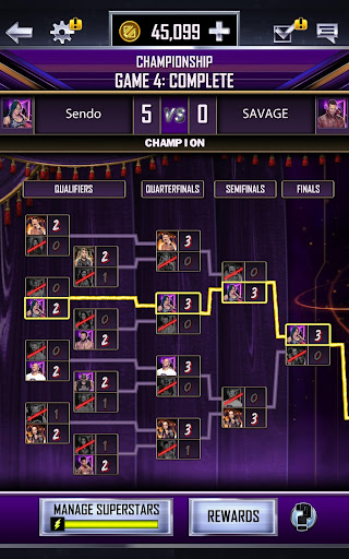 WWE SuperCard – Multiplayer Card Battle Game screenshot 20