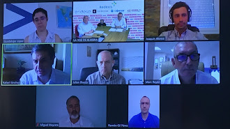 Imagen del webinar de La Voz de Almería y Cadena SER