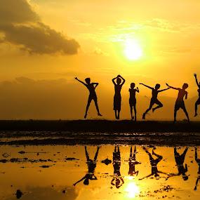 jumping by Pujo Tri Susanto - Babies & Children Children Candids