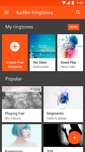 Audiko ringtones & wallpapers screenshot 7