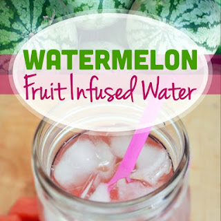 Watermelon Fruit Infused Water!
