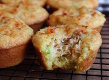 Cornmeal Crab Muffins