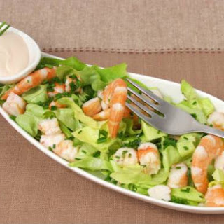 Prawn Cocktail Salad.