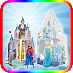 Frozen ice castle for PC and MAC