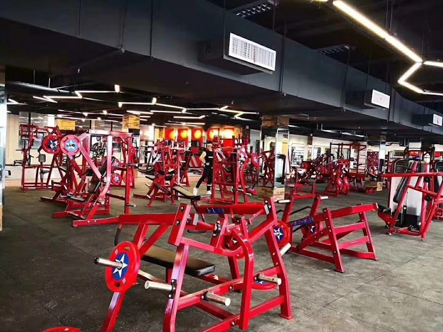 Khu tập gym hiện đại ngay trong chung cư
