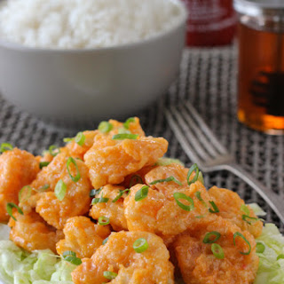 Crunchy Spiced Shrimp - Bang Bang Shrimp