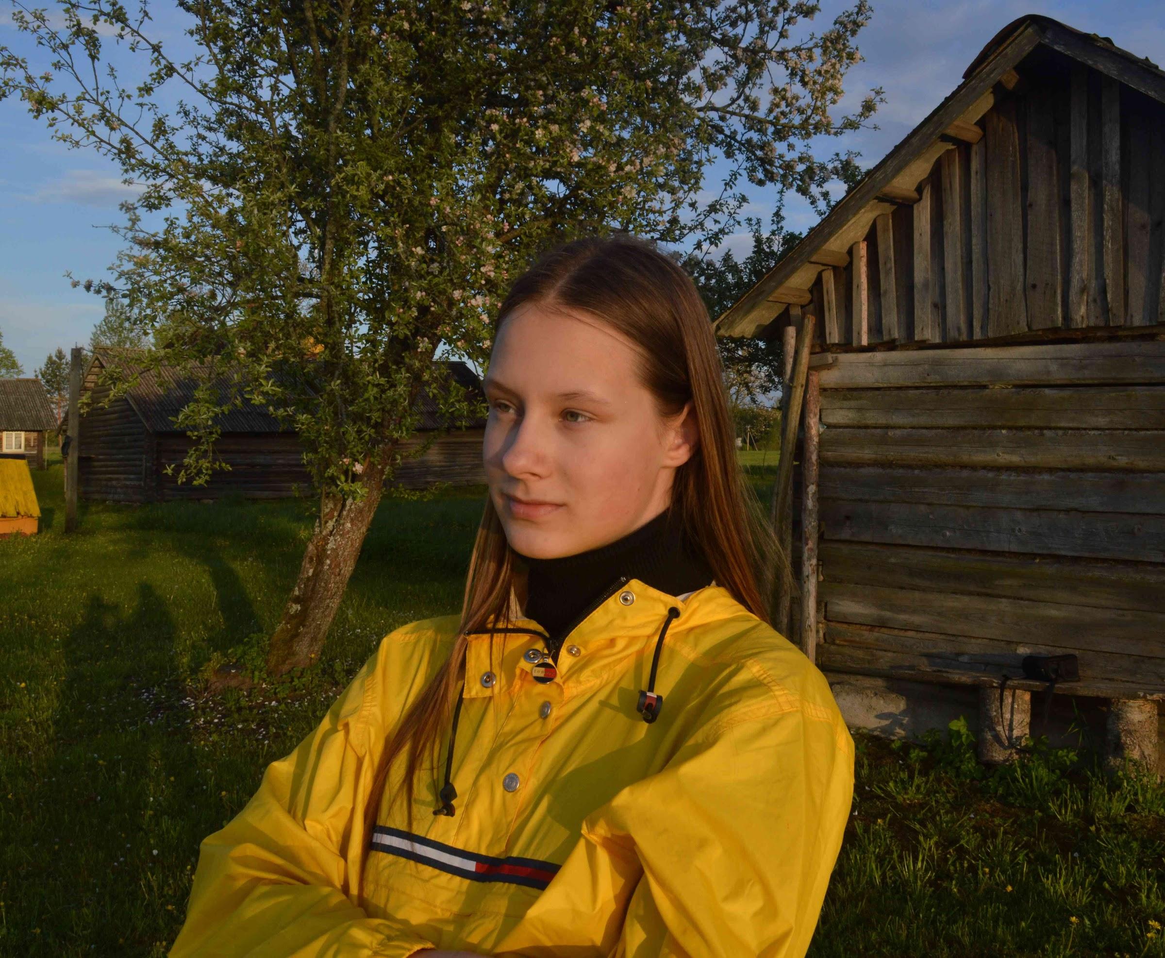 Kristiāna Ziediņa - latviešu valodas un literatūras olimpiādes uzvarētāja.