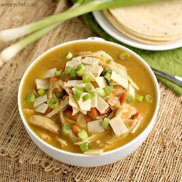 Green Chicken Enchilada Soup Recipe