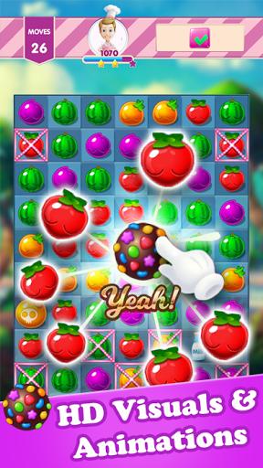 Screenshots von Candy Fruit Splash 8