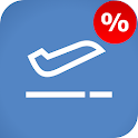 Cheap flights and airline tickets icon