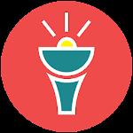 Flashlight Lollipop Material Icon