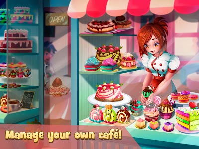 Dessert Chain: Café Waitress & Restaurant Chef 0.8.27 (Mod)