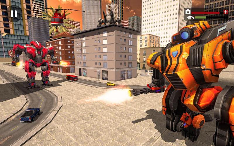 Скриншот Трансформация робота США: боевой симулятор