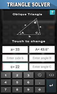 Triangle Solver screenshot 1