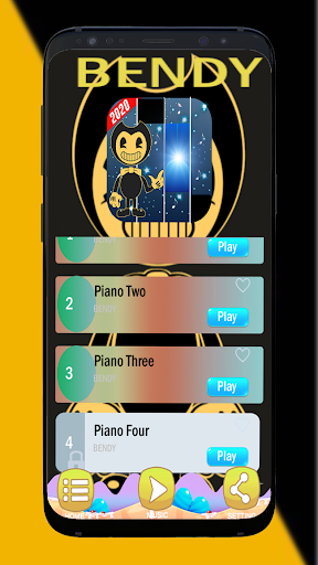Bendy Piano Tiles Build Our Machine ALL Songs 1.0 screenshots 2
